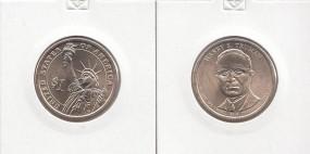 33 USA Präsidenten - Dollar 2015, Truman , Buchstabe P