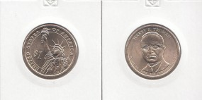 33 USA Präsidenten - Dollar 2015 Truman, Buchstabe D