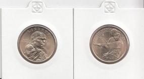 USA Native Dollar 2014 Buchstabe P