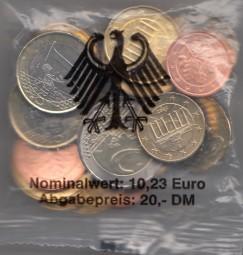Deutschland Starterkit 2002, Nominale 10,23 €