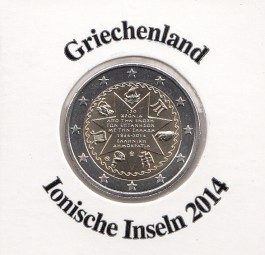 Griechenland 2 € 2014, Ionische Inseln