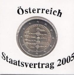 Österreich 2 € 2005, Staatsvertrag
