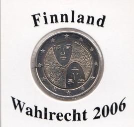 Finnland 2 € 2006, Wahlrecht