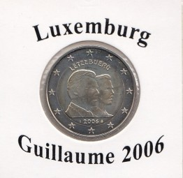 Luxemburg 2 € 2006, Guillaume