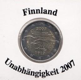 Finnland 2 € 2007, Unabhängigkeit