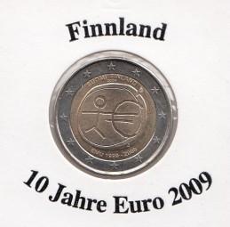 Finnland 2 € 2009, 10 Jahre Euro