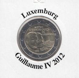 Luxemburg 2 € 2012, Guillaume IV,