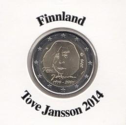 Finnland 2 € 2014, Tove Jansson