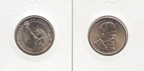 19 USA Präsidenten - Dollar 2011, Hayes, Buchstabe D, bankfrisch