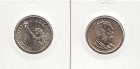 21 USA Präsidenten - Dollar 2012, Arthur, Buchstabe D, bankfrisch