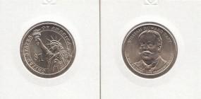27 USA Präsidenten - Dollar 2013, Taft, Buchstabe D, bankfrisch