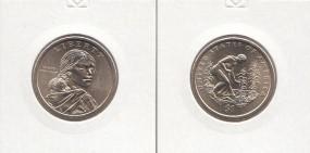 USA Native Dollar 2009 Buchstabe D
