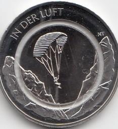 Deutschland 10 € 2019, in der Luft, bankfrisch Satz. A,D,F,G,J, komplett