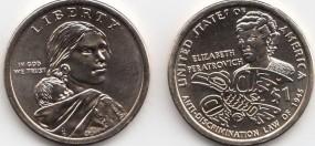 USA Native Dollar 2020 P