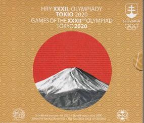 Slowakei Kursmünzsatz 2020 ST / Olympiade Tokio