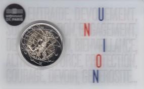 Frankreich 2 € 2020, Medizinische Forschung in Coincard