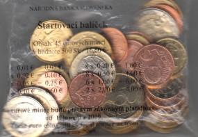 Slowakei Starterkit 2009, bankfrisch Nominale: 16,60 €