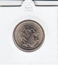 USA Native Dollar 2021, bankfrisch Buchstabe P