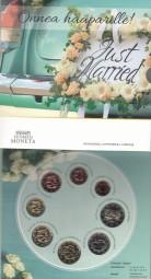 Finnland KMS 2021 , Hochzeit, BU / ST, Auflage nur 1500 Stck.