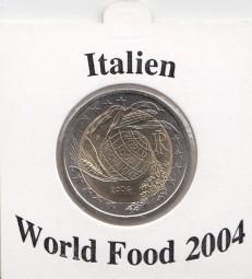Italien 2 € 2004, World Food
